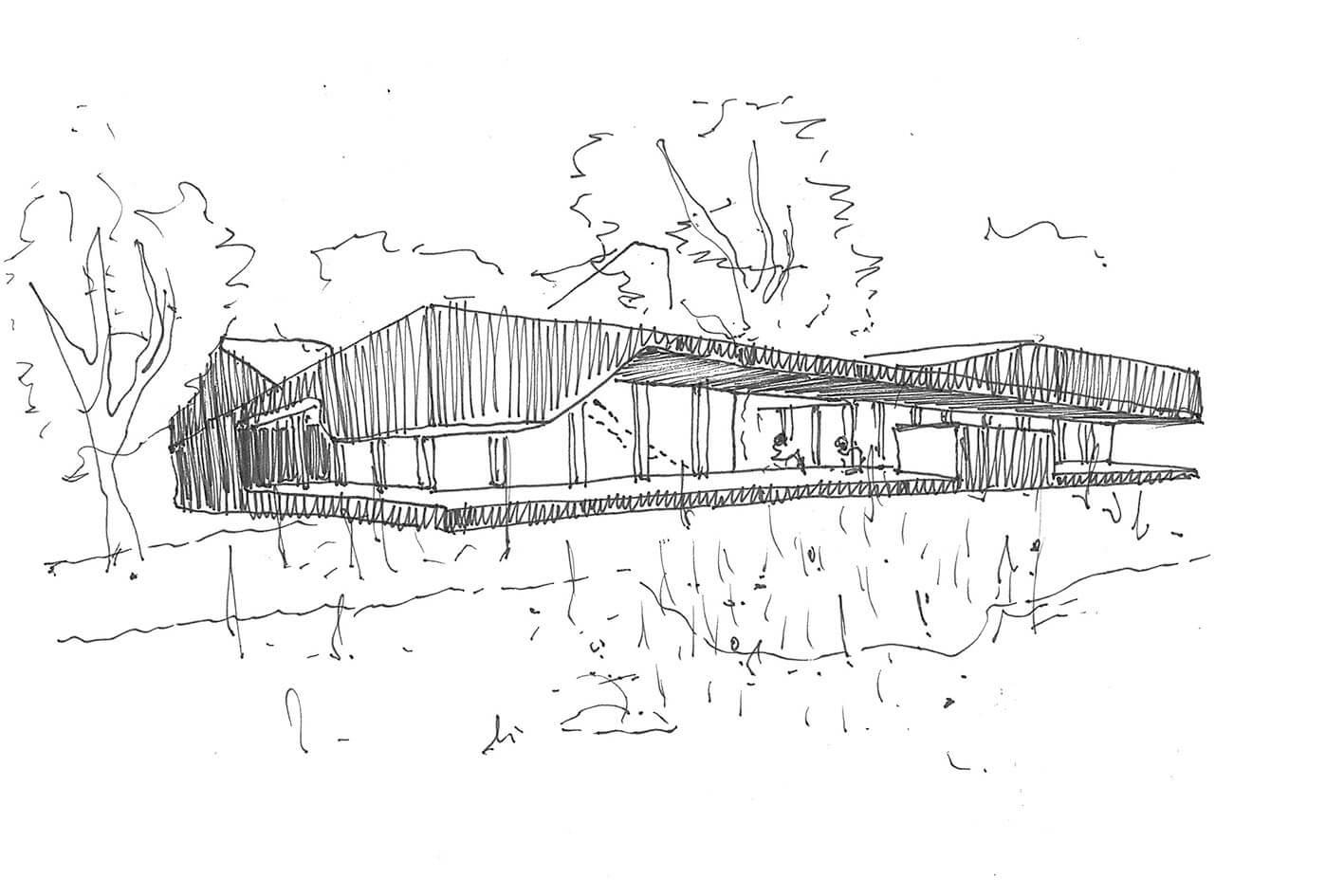 Landhuis onix architecten for Schets programma
